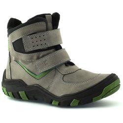 Buty zimowe dla dzieci Kornecki 06236 - Zielony ||Szary