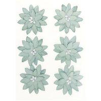 Pozostałe artykuły papiernicze, Kwiaty samop. GP papier DALIA op.6 szary 252010