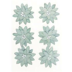 Kwiaty samop. GP papier DALIA op.6 szary 252010