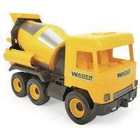 Osobowe dla dzieci, Wader Auto middle Truck domíchávač žlutý