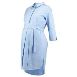 MAMALICIOUS NORDIC MLKRISTA LIA DRESS Sukienka koszulowa cerulean