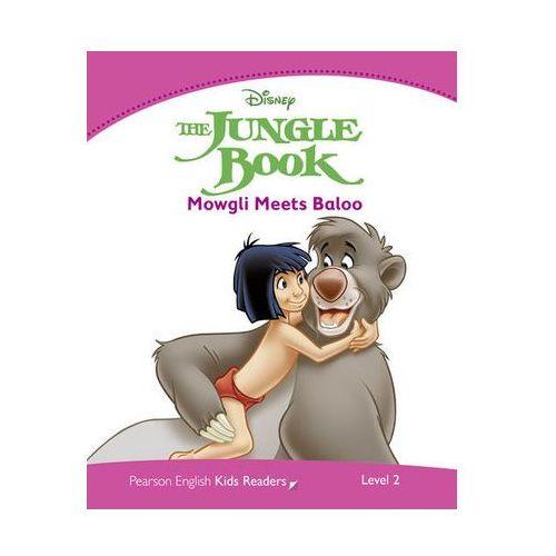 Książki do nauki języka, The Jungle Book - Mowgli Meets Baloo (Druga Księga Dżungli: Mowgli i Baloo) Poziom 2 (400 Słów) (opr. miękka)
