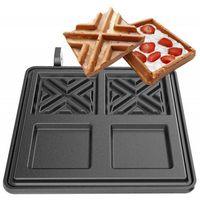 Pozostała gastronomia, Płyta do gofrownicy | X-waffel | 2 x 108x108x20 mm