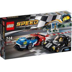 75881 FORD GT Z ROKU 2016 I FORD GT 40 Z ROKU 1966 KLOCKI LEGO SPEED CHAMPIONS
