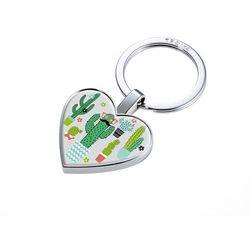 Breloczek do kluczy w kształcie serca z żetonem do wózków MR. MEXICO marki Troika