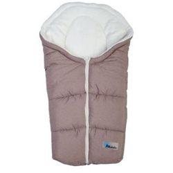 ALTABEBE Śpiworek zimowy Alpin do fotelika gr. 0+ kolor jasnobrązowy/whitewash