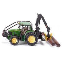 Traktory dla dzieci, Zabawka SIKU Farmer Traktor Leśny John Deere + DARMOWY TRANSPORT!