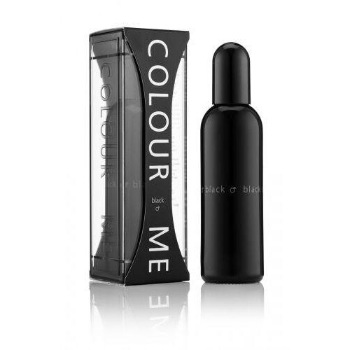 Wody perfumowane męskie, Colour Me Black EDP Woda perfumowana dla mężczyzn 90ml