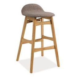 Krzesło barowe - hoker - Signal - TRENTO - Styl Skandynawski