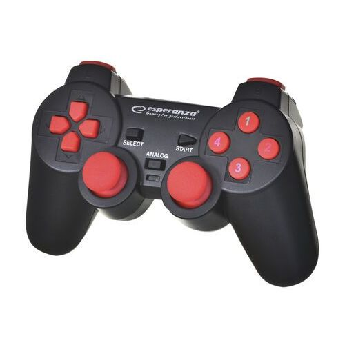 Gamepady, Esperanza GAMEPAD PC USB WARRIOR CZARNO/CZERWONY