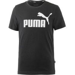 PUMA Koszulka 'ESS' czarny / biały