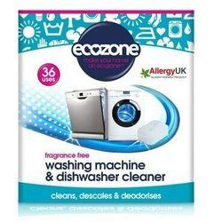 ECOZONE Tabletki do odkamieniania oraz czyszczenia pralek i zmywarek BEZZAPACHOWE 36 szt