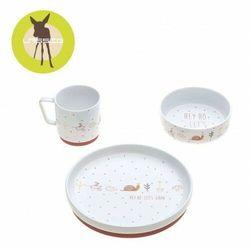 Lassig - Komplet naczyń z porcelany - Garden Explorer Ślimak