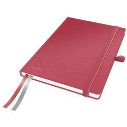 Notatnik A6 LEITZ linia czerwony (W) - X08475
