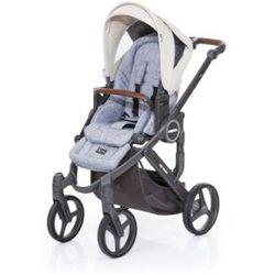 ABC DESIGN Wózek dziecięcy Mamba plus graphite grey-sheep, stelaż cloud / siedzisko graphite grey