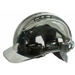 PV50 - kask budowlany SMOKE czarny BLACK PORTWEST