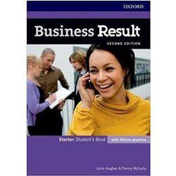 Business Result 2E Starter SB + online practice (opr. broszurowa)