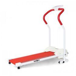 Treado Basic bieżnia z pulsometrem czerwona