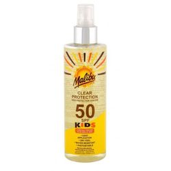 Malibu Kids Clear Protection SPF50 preparat do opalania ciała 250 ml dla dzieci