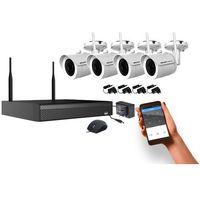 Kamery przemysłowe, SNAPVISION Easy Monitoring 4K [4KAM] 4CHwifi