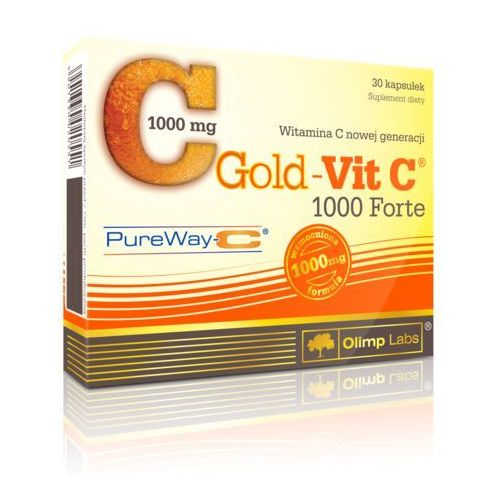 Witaminy i minerały, OLIMP Gold-Vit C 1000mg Forte 30 Kaps