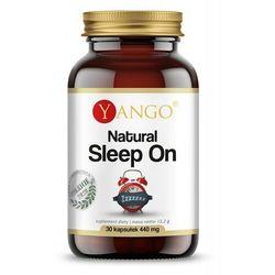 Natural Sleep On - Ułatwia Zasypianie (30 kaps.) Yango