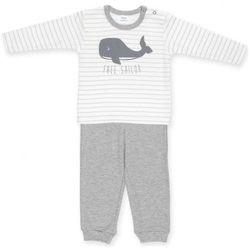 Piżamka z Wielorybem – Happy Kids / Szara, PINOKIO