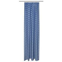 Zasłony, Zasłona CLEO ciemnoniebieska 140 x 250 cm na taśmie