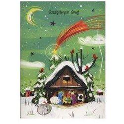 Karnet Szopka Szczęśliwych świąt