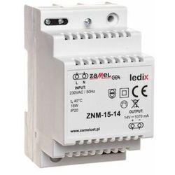 Zasilacz LED modułowy 14V 15W ZNM-15-14 LEDIX ZAMEL