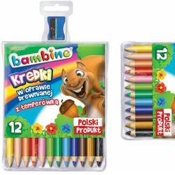 Kredki 12 kolorów Bambino