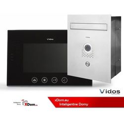 Zestaw VIDOS skrzynka na listy z wideodomofonem. Monitor 7'' S551-SKP_M670B-S2