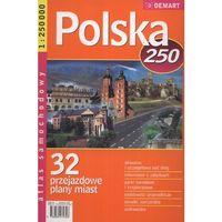 Mapy i atlasy turystyczne, Polska. Atlas samochodowy 1:250 000 (opr. miękka)