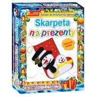 Kreatywne dla dzieci, Zestaw do kreatywnej zabawy - Skarpeta na prezenty