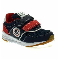 Buty sportowe dla chłopca American Club ES07/21 Navy