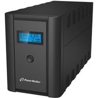 UPSy, UPS POWER WALKER LINE-INTERACTIVE 1200VA 2X 230V PL + 2X IEC OUT, RJ11/RJ45 IN/OUT, USB, LCD