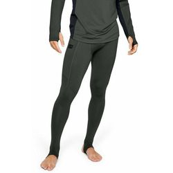 Under Armour Legginsy kompresyjne Gametime Compress Gear Legging Green