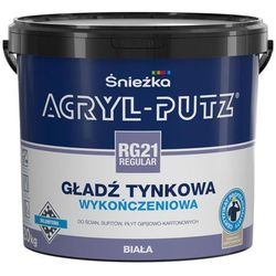Gotowa gładź tynkowa Acryl Putz RG 21 Regular 20 kg