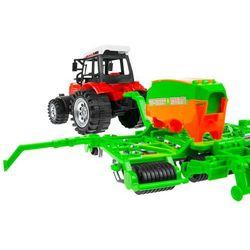 Zestaw 2 traktorów + Maszyny rolnicze Mały Farmer