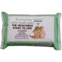 Chusteczki dla niemowląt, Chusteczki nawilżane dla dzieci z aloesem - Beaming Baby