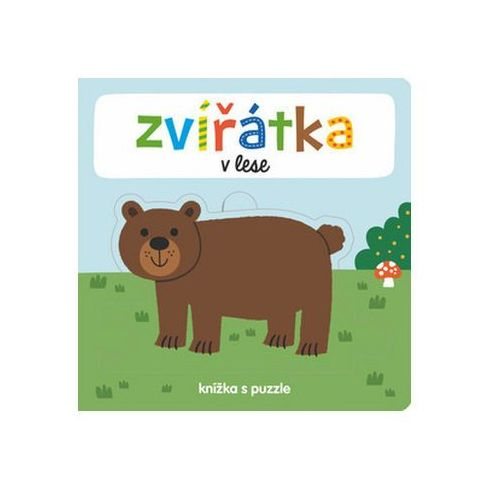 Puzzle, Zvířátka v lese - knížka s puzzle neuveden