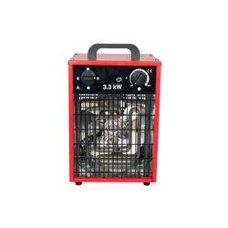 Nagrzewnica elektryczna Inelco Neutral 3,3kW - produkt bez logo - wersja w czerwonej obudowie