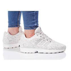 adidas Originals ZX FLUX Tenisówki i Trampki grey one/footwear white