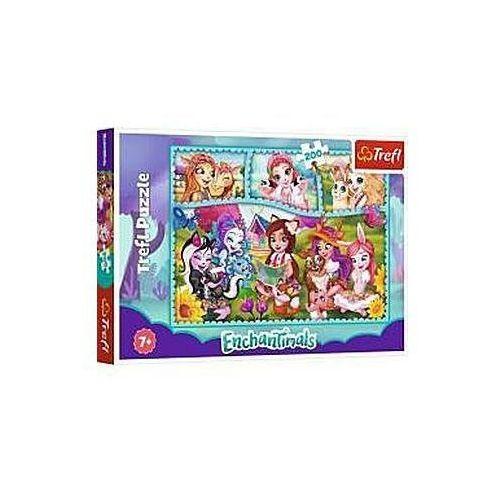 Puzzle, Puzzle 200 Niezwykły świat Enchantimals TREFL
