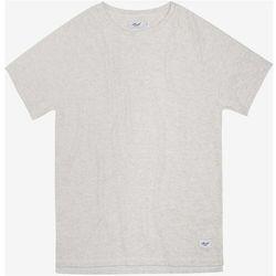 koszulka REELL - Raglan T-Shirt Off-White Melange (OFF-WHITE MELANGE) rozmiar: L