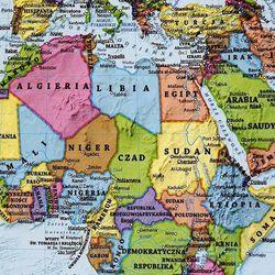Świat mapa ścienna dwustronna fizyczno-polityczna 1:60 000 000