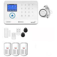 Zestawy alarmowe, bezprzewodowy zestaw alarmowy OPTIMA 1 EO01 - PG R3 + syrena 105 dB
