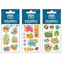 Naklejki, Naklejki Sticker BOO silver zwierzęta