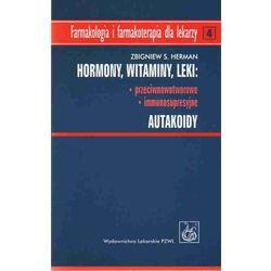 Hormony Witaminy Leki przeciwnowotworowe immunosupresyjne Autakoidy (opr. miękka)