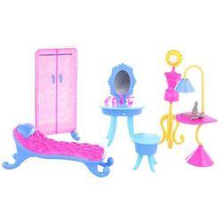 Lamps zestaw mebli dla lalki Glorie, garderoba